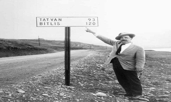 Yıl 1964.... Bitlisli bir Ermeni , Yaşar Kemal , Ara Güler ve Fikret Otyamla