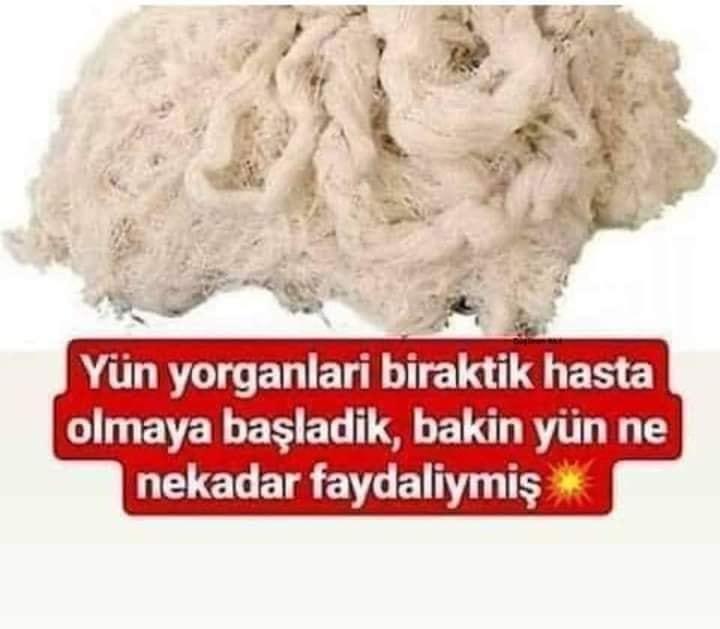 """YÜN"""" NE BÜYÜK NİMETMİŞ MEĞER"""