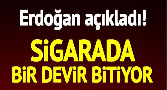Cumhurbaşkanı Erdoğan'dan Flaş Sigara Açıklaması, Sigara Haramdır! Sigarayla İlgili Yeni Dönem Başlıyor