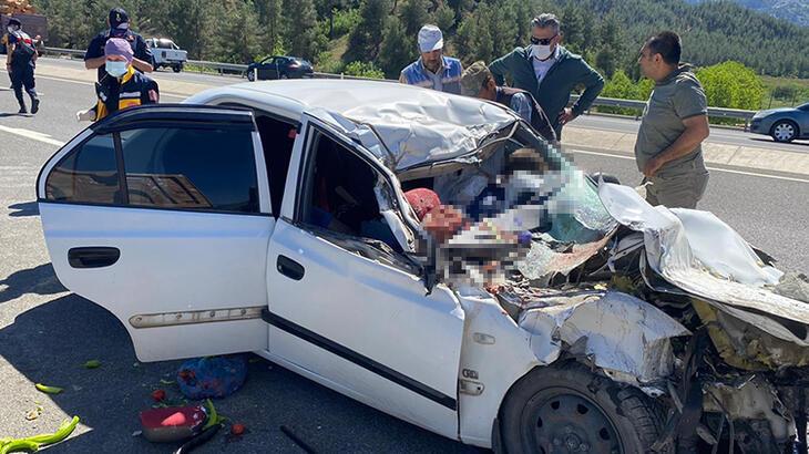 Korkunç Kaza Sonucunda Aynı Aileden 4 Kişi Öldü