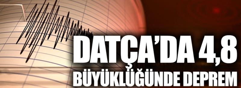 Son Dakika: Muğla Datça'da Korkutan Deprem