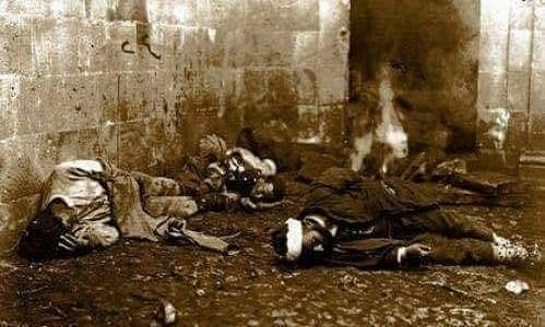 Tarihte Navarin katliamı.. 3000 Türk Yunanlılarca öldürüldü...