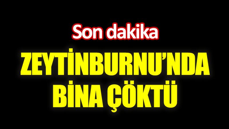 Son Dakika: İstanbul'da bina çöktü