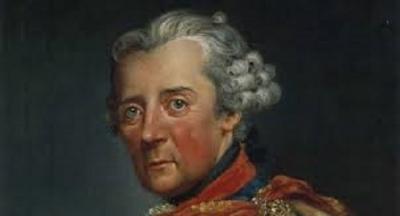 1750 yılında, Alman Prusya Kralı Büyük II. Frederick, Berlin yakınlarındaki Potsdam ormanlarında gezinirken, bir değirmenin bulunduğu alçak bir tepe üstünde durur.