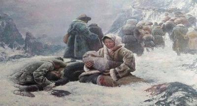 """1916'da Kırgızistan'da tarihe adı """"Ürkün"""" olarak geçen bir katliam yaşandı."""