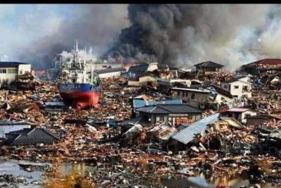 2011 Japonya 9 şiddetindeki depremde Ölenlerin sayısı 15. Tusinamide ölenlerin sayısı 16 bin 500 Denizde kayıp 2 bin 600 kişi.