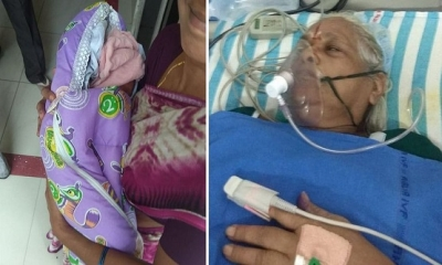 73 Yaşındaki Yaşlı Kadın İkiz Doğurunca, 82 Yaşındaki Kocası İnme Geçirdi