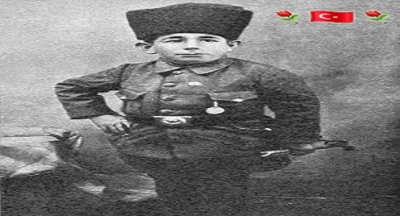 Ali Şamil. 1 metre 10 santimdi. Enver paşa'ya hediye edildi.
