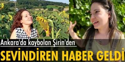 Ankara'da kaybolan Zihinsel engelli Dilan'dan sevindirici haber