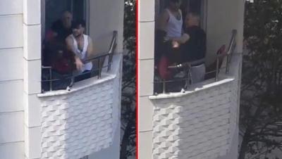 Anneler Günü'nde Evinin Balkonunda , Hem Oğlundan, Hem de Kocasından Dayak Yedi: İşte Korkunç Görüntüler