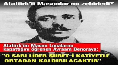 ATATÜRK'TEN MASONLARA: HEPİNİZİ ASTIRIRIM!
