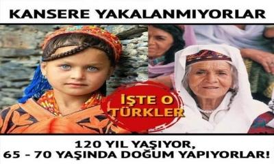 Bilim Hiç Kansere Yakalanmayan Ve En Az 120 Yıl Yaşayan Hunza Türklerini İnceliyor