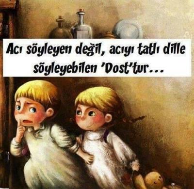 BİR DOSTLUGUN ÖYKÜSÜ