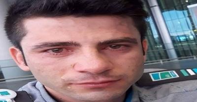 """Bir güvenlik personeli terminal içerisinde """"Kürt olduğum için dışlandım diyerek """" yüksekten atlayarak intihar etti."""