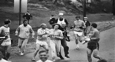 Bu fotoğraf, 1967 yılında Boston'da düzenlenen maraton sırasında çekilmiş bir kare. Hikayesi ise şöyle