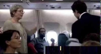 Bu olay 14 ekim 1998 de kıtalar arası bir uçuş esnasında gerçekleşmiştir.