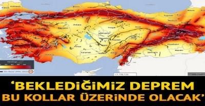 Büyük İstanbul Depreminin Hangi Bölgeler Üzerinde Olacağı Açıklandı