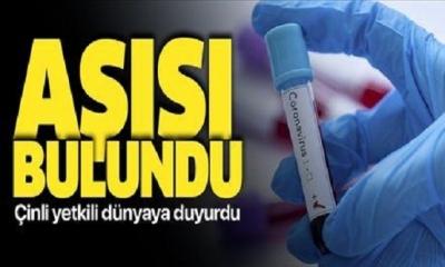Büyükelçi Duyurdu: Koronavirüsün aşısını bulduk