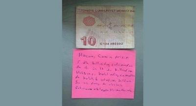 Caminin Elektriğini Kullanan Vatandaş, Bu Notla ve Para Bırakarak Helallik İstedi
