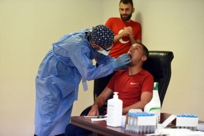 Denizlispor'da korona virüs test sonuçları belli oldu