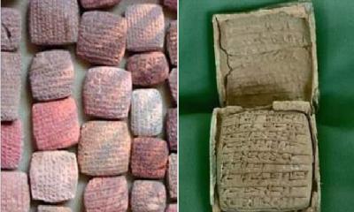 Dört bin yıl öncesinden iki mektup