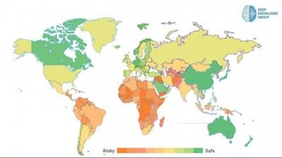 Dünyanın Konuştuğu Corona Haritası Yayınlandı: Türkiye'de Listede Yerini Aldı