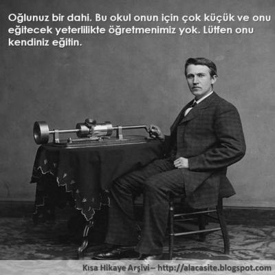 Edison'u Yüzyılın Dahisi Yapan Kahraman Annenin  Hikayesi