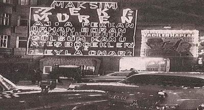 Efsane mekanlardan Taksim Sıraselviler'deki Büyük Maksim Gazinosu. Peki bu Maksim adı nereden geliyor?