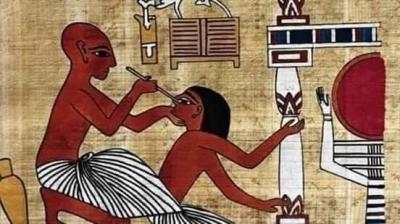 ESKİ MISIR'DA ÇÜRÜMÜŞ EKMEĞİN HASTALARIN TEDAVİSİN DE KULLANILMASI