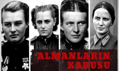 İkinci Dünya Savaşında Sovyet ordusunda yaklaşık olarak 800.000 kadın görev aldı