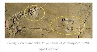 İnsan oğlunun en eski ayak izleri bulundu