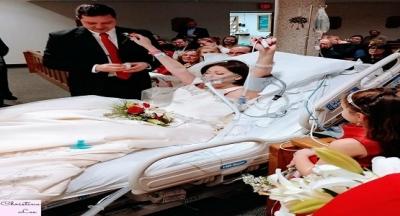 Kanser Hastası Kadın Hastanede Evlendi Ve 18 Saat Sonra Eşinin Gözlerine Bakarak Son Nefesini Verdi