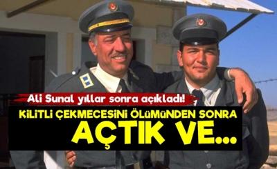 Kemal Sunal'ın Gizli Çekmecesinde Neler Vardı? Oğlu Ali Sunal'dan Duygulandıran Açıklama