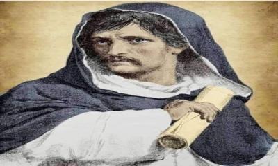 Kilise tarafından yakılarak öldürülen Giordano Bruno