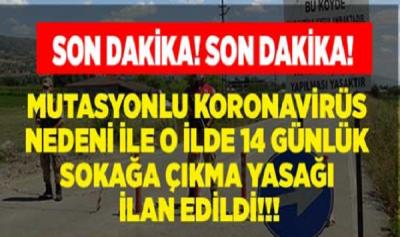 Mutasyonlu Virüs Görülen Köy Karantinaya Alındı