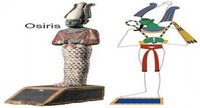 Osiris ilk zamanlarda bitki tanrısı olarak görülüyordu