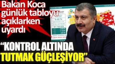 Sağlık Bakanı Fahrettin Koca'dan Korkutan Uyarı: Kontrol altında tutmak güçleşiyor!