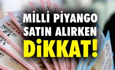 Sahte Milli Piyango Biletlerine Dikkat!