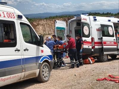 Sakarya'da şiddetli bir patlama daha: Yaralılar var