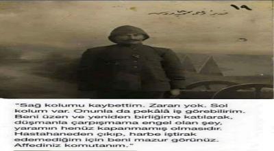 Seddülbahir ve Conkbayır'ın büyük kahramanlarından biride Bombacı Mehmet Çavuştu