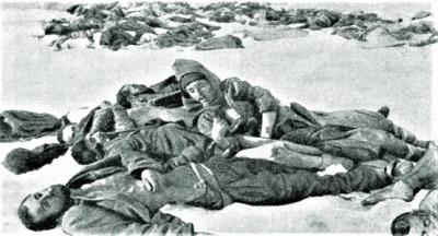 TOPRAK DONMUŞTU Tarih: 25 Aralık 1914. Yer: Sarıkamış.