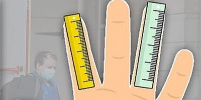 Yüzük parmağı uzun olan erkeklere güzel haber