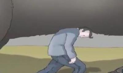 Depresyonu ve nasıl başa çıkılacağını anlatan harika bir animasyon. Şimdiye kadar böylesine rastlamadık!