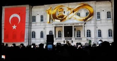 Hologram Tekniği İle Yapılan Ve Tüyleri Diken Diken Eden Atatürk'ün En Net Görüntüsü Ve Konuşması: Muhteşem Ötesi